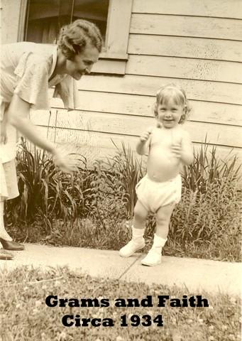 Birth of granddaughter Faith Carol Hughes