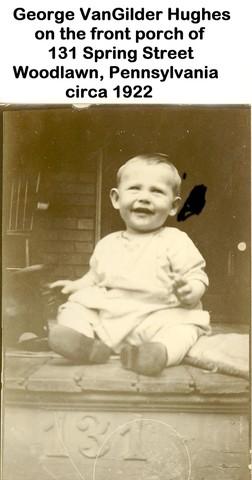 Birth of grandson George VanGilder Hughes