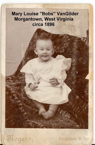 Birth of daughter, Mary Louise VanGilder
