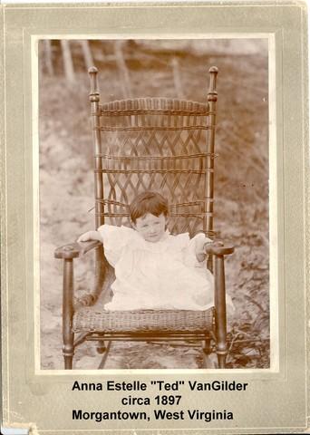 Birth of daughter Anna Estelle VanGilder