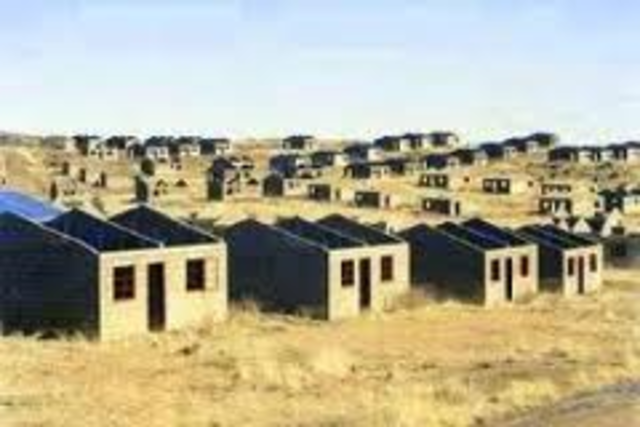 RDP housing policy established
