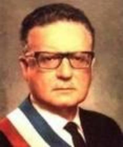 gobierno de Salvador Allende Gossens 1970-1973