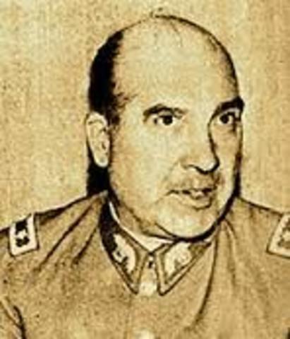 el atentado al comandante en jefe del Ejército