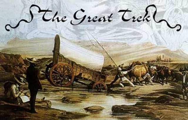 "The ""Great Trek""."