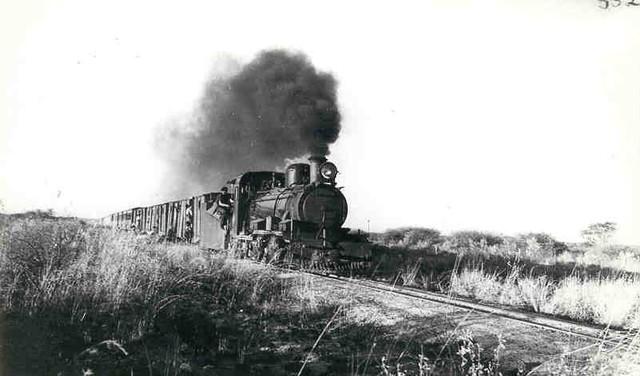 First train in Johannesburg