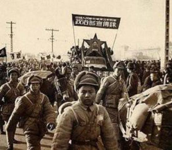 Entrada de los japoneses en Pekin