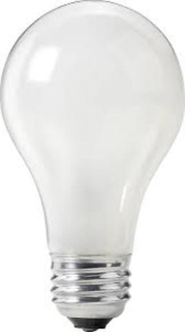 The first lightbulb.