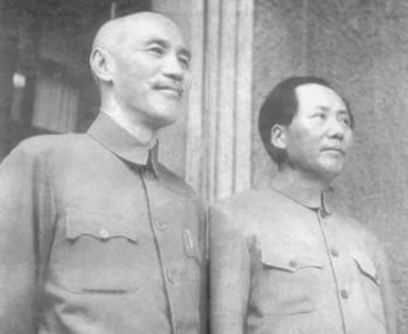 Mao se casa con He Zizhen