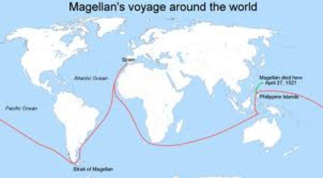 Magellan travels the world