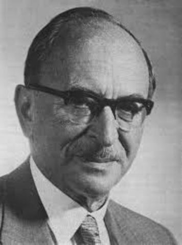 British/Hungarian scientist, Dennis Gabor, developed the theory of holography.