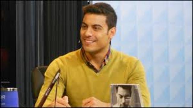 Carlos Rivera en entrevista