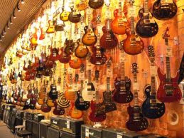 Esa era la guitarra de Joe