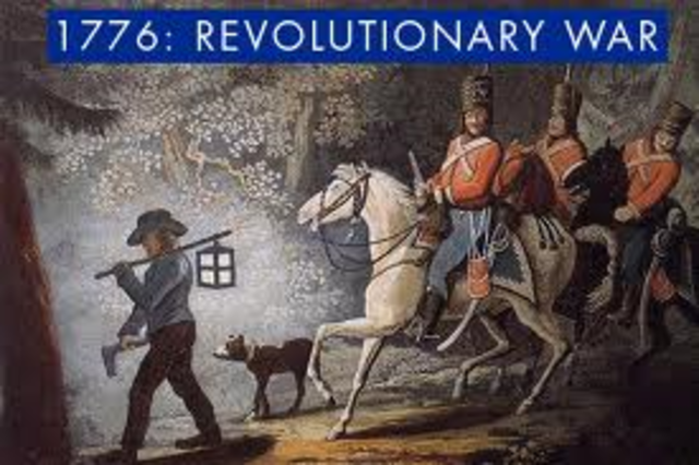 The Years of the Revolutionary War