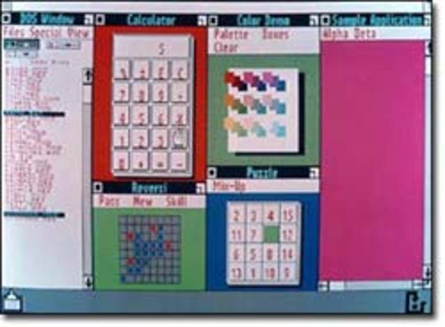 1985: Windows 1.0