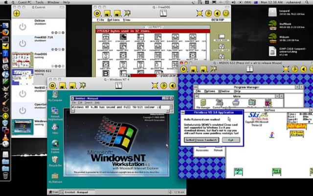1993: Windows NT 3.1