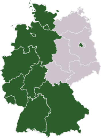 Bundes rebrubblik deutscland ( BRD)
