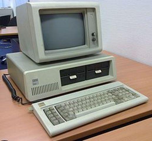 IBM introduced its PC