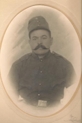 Father, Florian dies during World War I