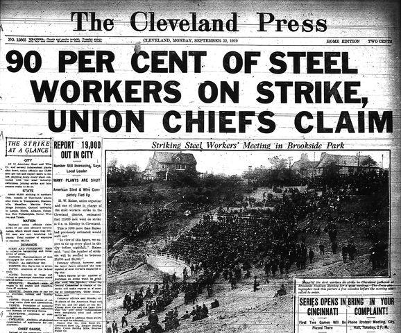 Pittsburg PA steel strike