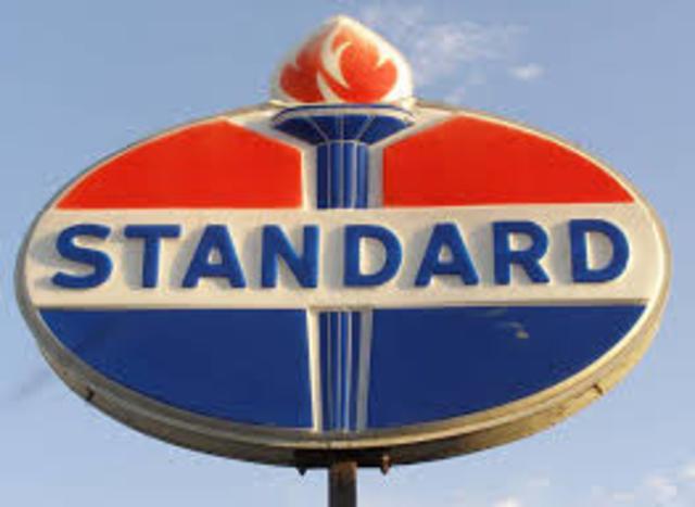 Supreme court orders break up of standard oil