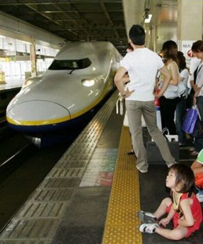 New Bullet Trains In Japan