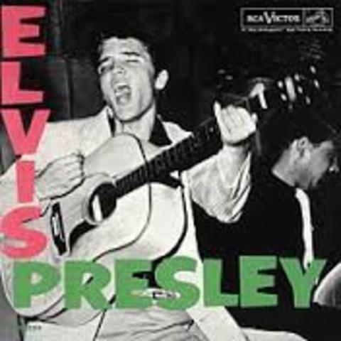 THE ELVIS PRESLEY ALBUM WAS RELEASED