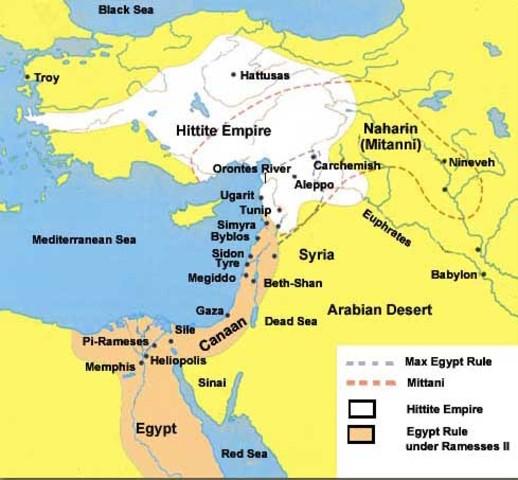 Hittites Form an Empire