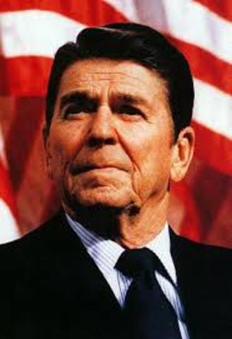 Reagan In Office