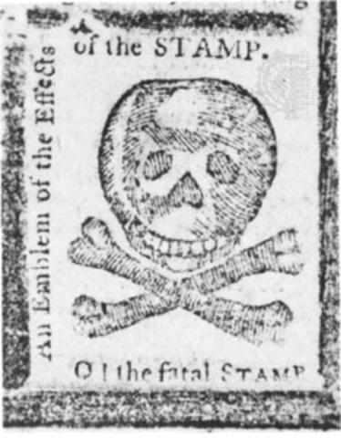 """Stamp Act- """"No Taxation w/o Representation"""""""