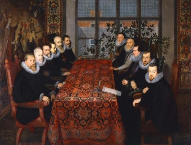 Spain and England sign peace treaty