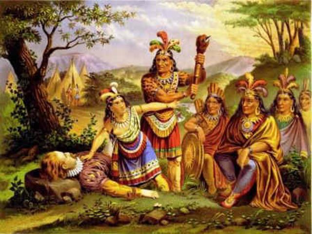 Anglo-Powhatan War ends