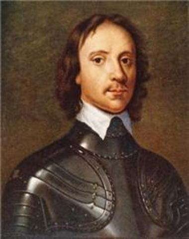 Act of Toleration in Maryland; Charles I beheaded; Cromwell rules England