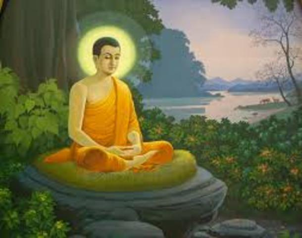Founder of Buddism is Born