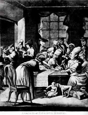 Intolerable Acts Edenton Proclamation