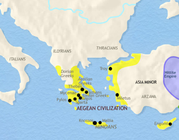 Mysterious End of the Minoan Civilization