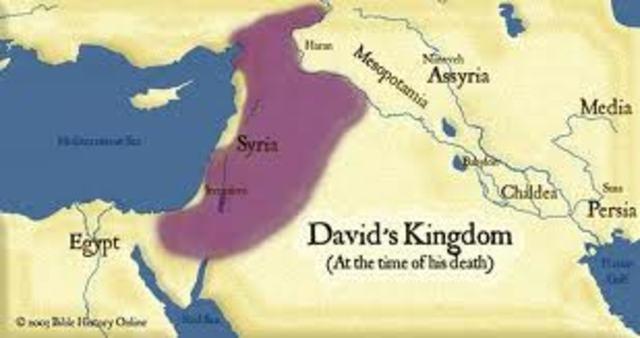 The Kingdom of Israel.