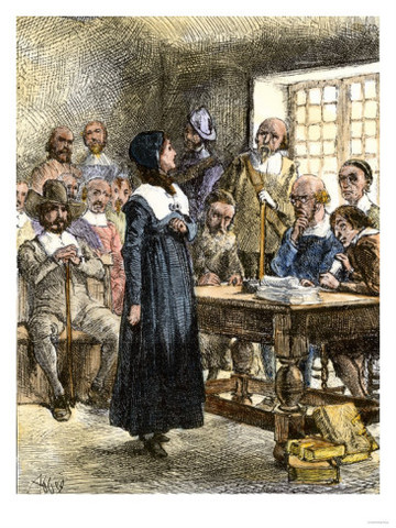 Anne Hutchinson banished from Massachusetts Bay Colony