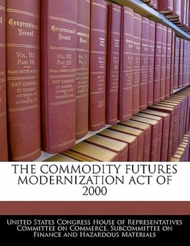 Commodity Futures Modernization Act of 2000