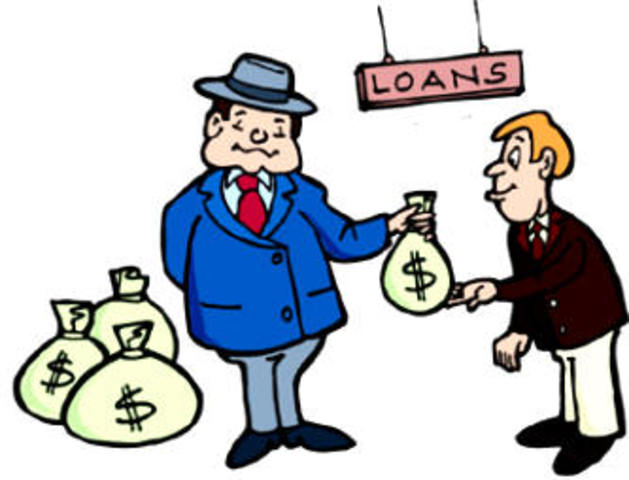 Financial institutions start to issue huge amounts of mortgage-backed securities.