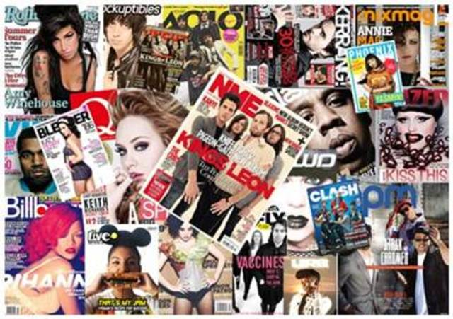 How many magazines are there?