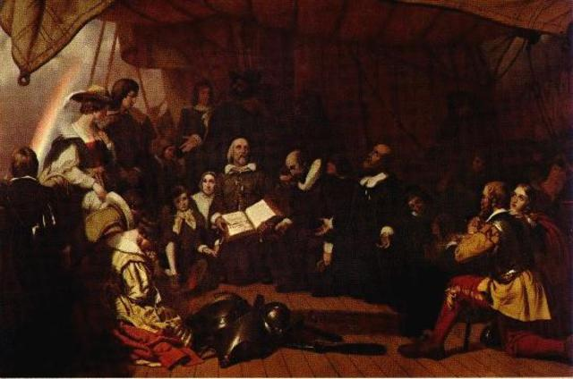 New England Confederation formed