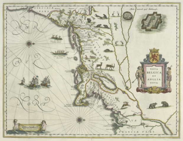 New Netherland conquers New Sweden