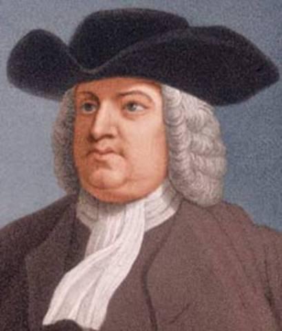 William Penn founds Pennsylvania Colony