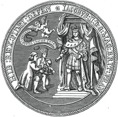Royal authority creates dominion of New England