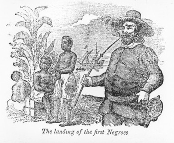 First Africans arrived in Virginia