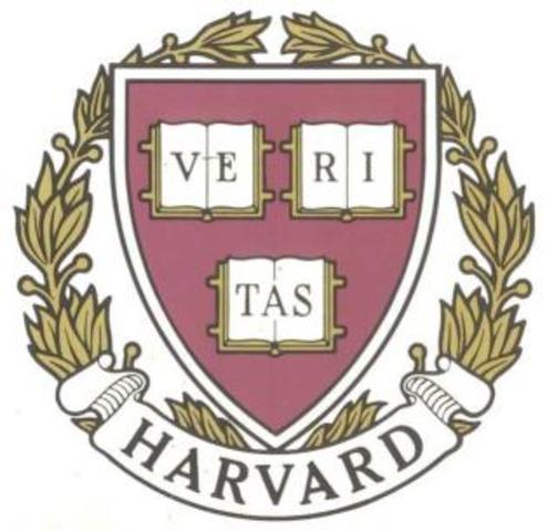 Harvard University founded