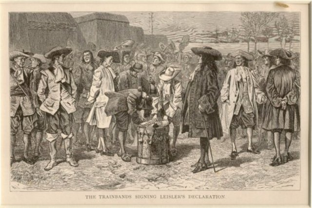 Leisler's Rebellion in New York