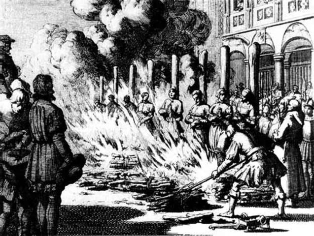 Salem Witch Trials in Massachussett's