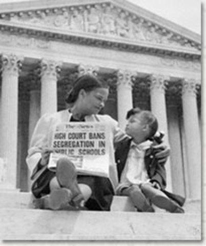 1954 Brown v. Board of Education