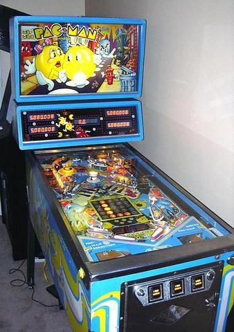 Pinball Pac man